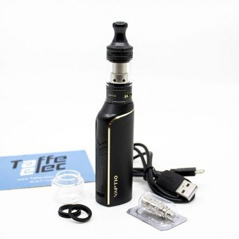 Kit Cosmo Plus noir - Vaptio