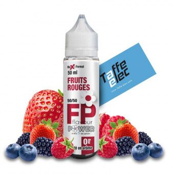 E-liquide Fruits Rouges 50ml - Flavour Power