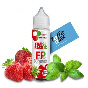 E-liquide Fraise Basilic 50ml - Flavour Power