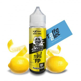 E-liquide Lemon Addict 50ml - Rebel Flavour Power